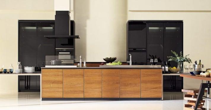 最高級ステンレスキャビネットキッチン:CENTRO