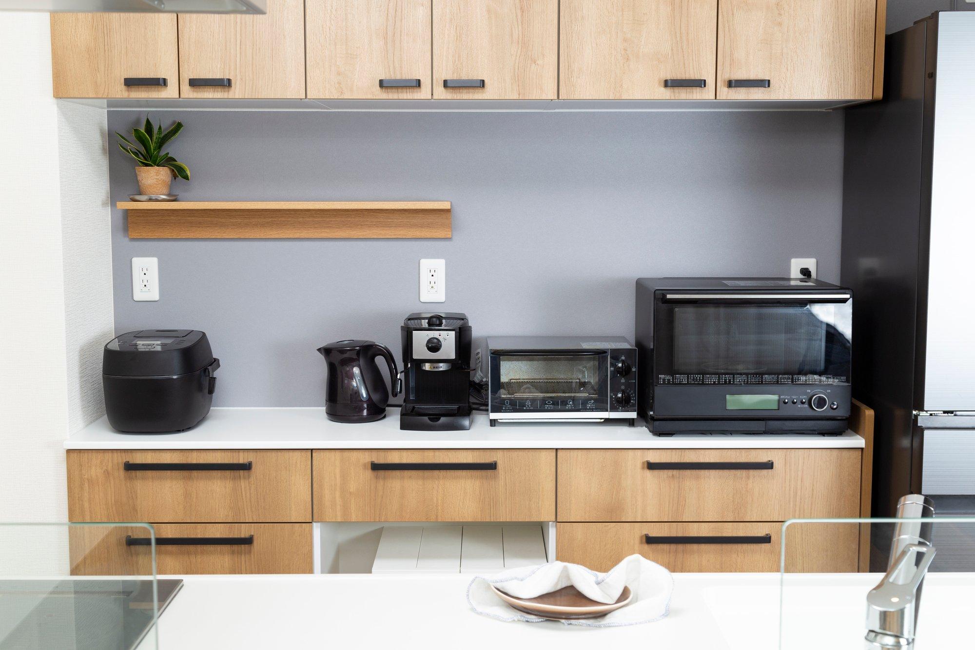 キッチン家電の消費電力は?