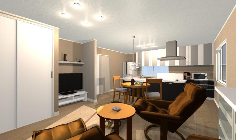 限られた空間で暮らしを楽しむ機能的な家