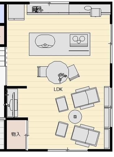 限られた空間で暮らしを楽しむ機能的な家(和室)アフター