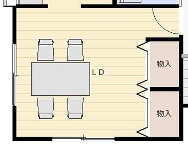 限られた空間で暮らしを楽しむ機能的な家(和室)ビフォー