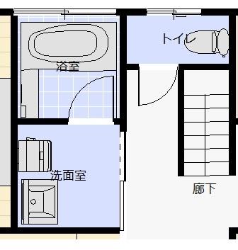 限られた空間で暮らしを楽しむ機能的な家(水回り)ビフォー