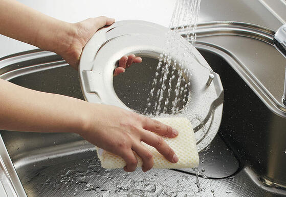 時短お掃除へ!自動洗浄とアイデアフィルター換気扇