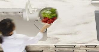 キッチンのワークトップ、使いやすい高さと素材とは?