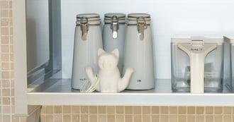 プラスαの工夫でおしゃれに!おすすめのキッチン収納アイデア