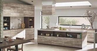 STEDIAで叶う! 多彩なカラーと取手でおしゃれなキッチン空間