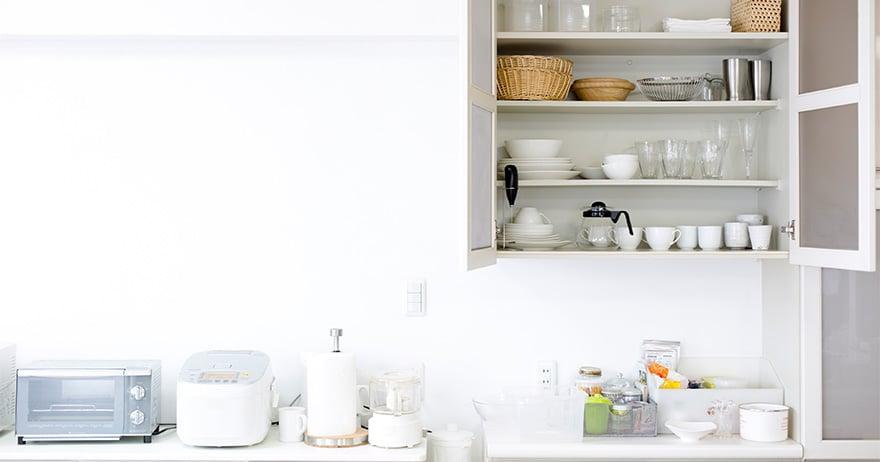 キッチン収納、基本の「き」。すぐに使えるアイデアから収納術までご紹介!