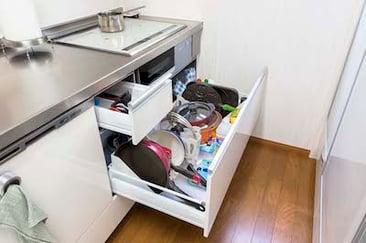 効率的で時短に! スムーズに動ける快適キッチンリフォームフォトギャラリー