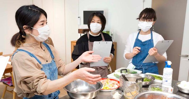 料理が楽しく学べるキッチン