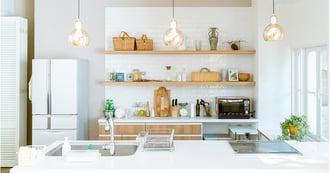 「おうち時間」が充実する!キッチン収納の片付け術