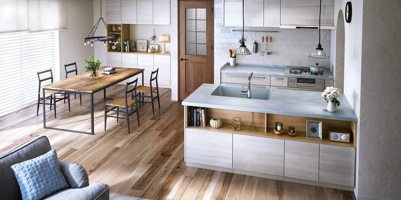Ⅱ列型キッチン