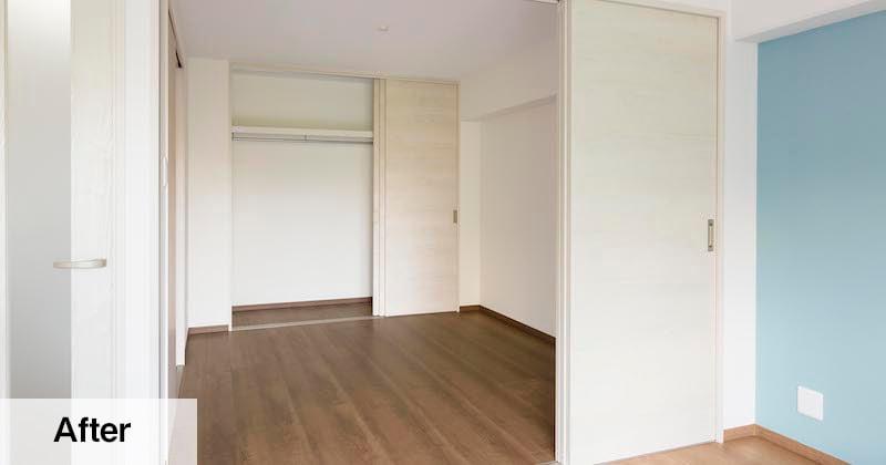 「和室+押し入れ」の空間が、「洋室+クローゼット」に大変身!