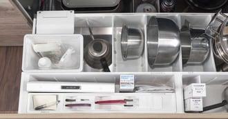 キッチンがごちゃごちゃ! そんなときに見直したい整理の方法