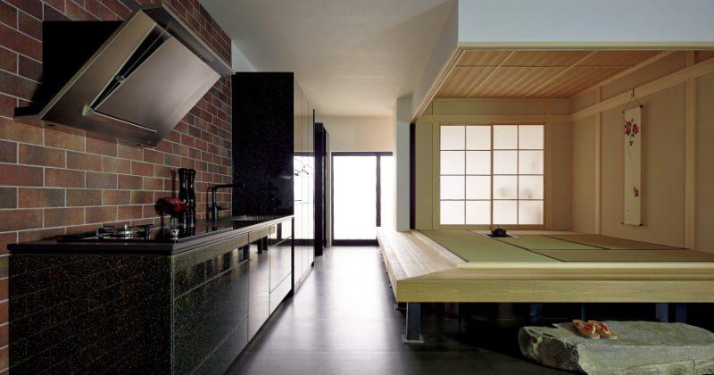 和、洋どちらのインテリア空間にも調和する京友禅の扉 サムネイル画像