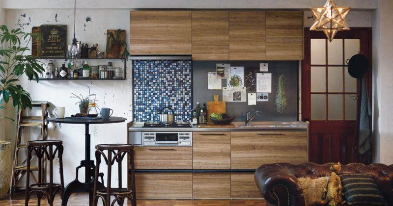 小さなスペースでも、理想のキッチンを