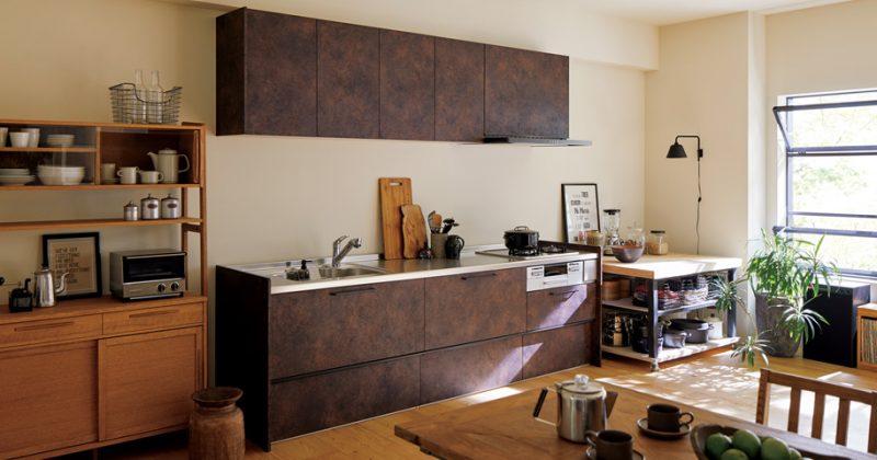 ビンテージな風合いが家具に溶け込む サムネイル画像