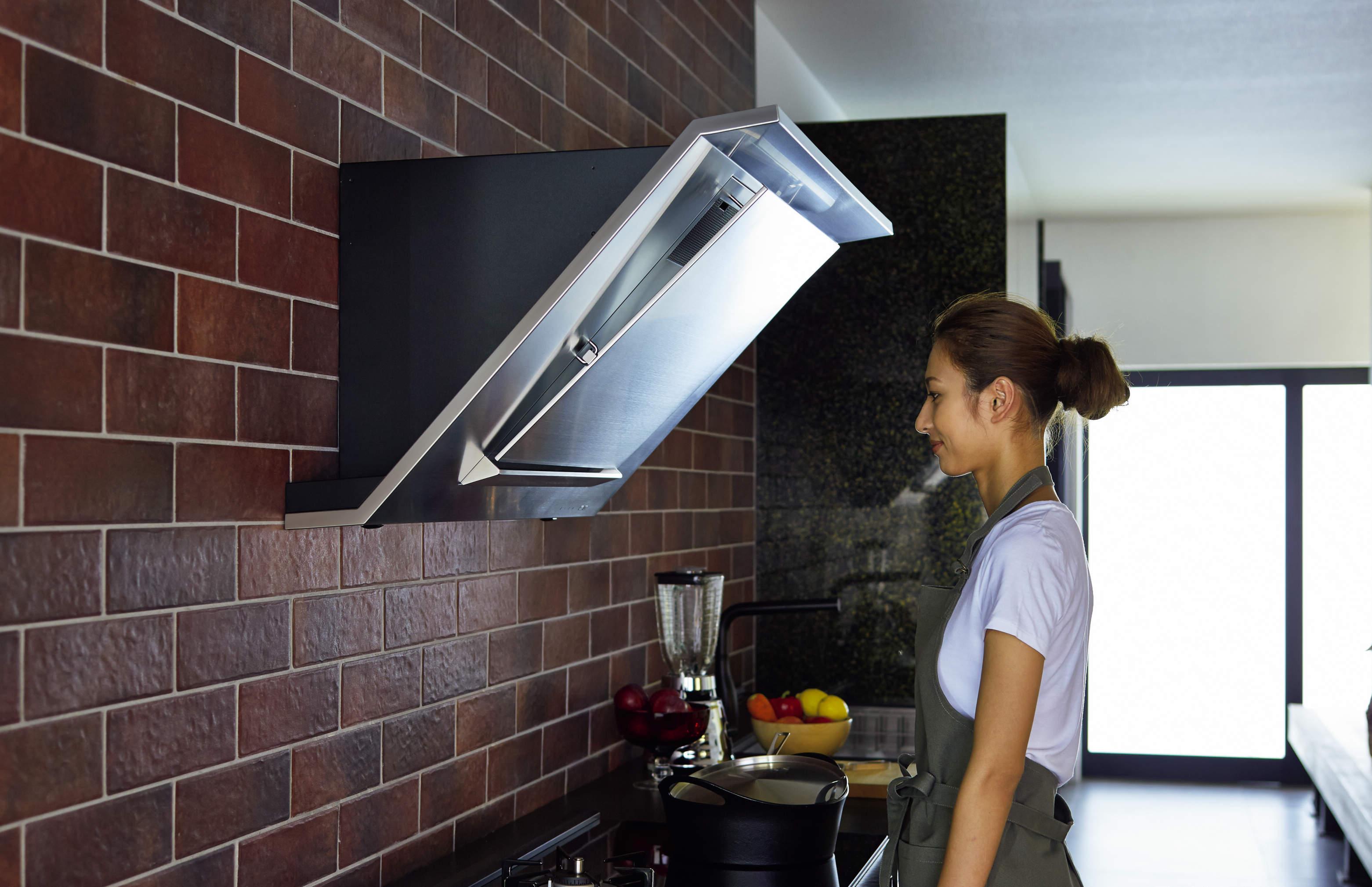 時短お掃除へ!自動洗浄とアイデアフィルター換気扇 サムネイル画像