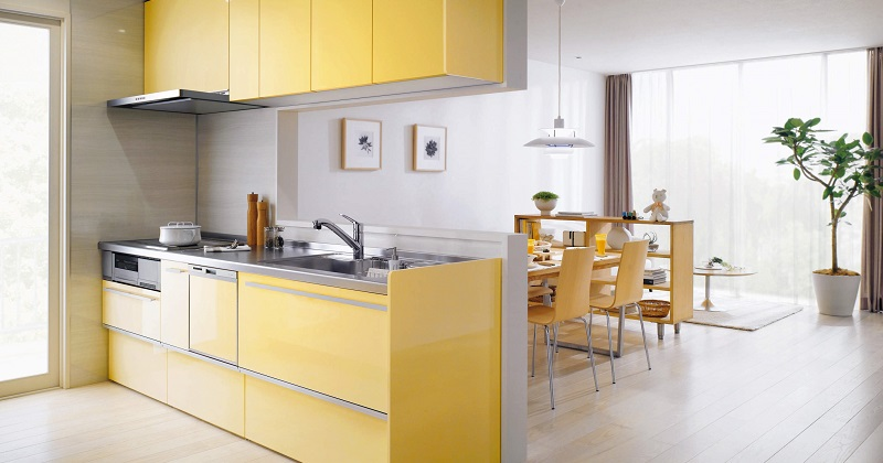 高い収納力と高機能で毎日が楽しくなるキッチン サムネイル画像