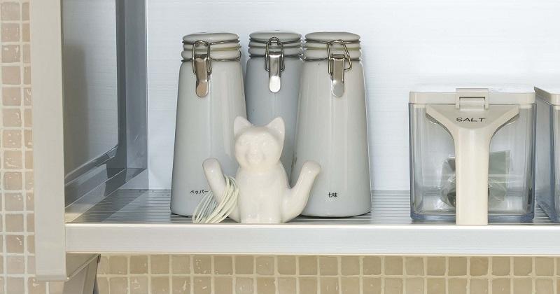 プラスαの工夫でおしゃれに!おすすめのキッチン収納アイデア サムネイル画像