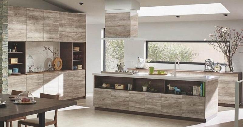 STEDIAで叶う! 多彩なカラーと取手でおしゃれなキッチン空間 サムネイル画像