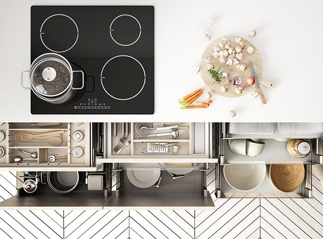 ライフスタイルで考える 台所収納の基本とアイデア総まとめ サムネイル画像