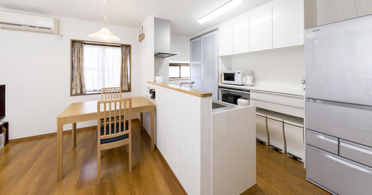 効率的で時短に! スムーズに動ける快適キッチン サムネイル画像