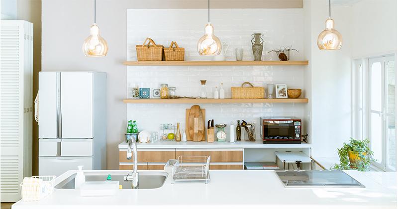 「おうち時間」が充実する!キッチン収納の片付け術 サムネイル画像