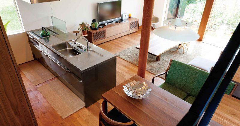 ワークトップ、カラー、素材。おしゃれなキッチンインテリア集めました! サムネイル画像